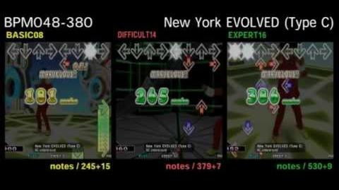 DDR X3 New York EVOLVED (Type C) - DOUBLE
