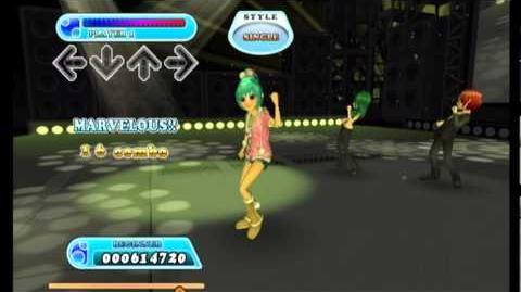 Dance Dance Revolution Hottest Party 3 - Gotta Dance (Beginner Free Play Mode)