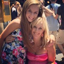 Talia and mom Jennifer 2014-08-13