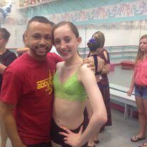 James Washington with Chloe Smith 2014-09-13