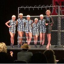 Fenced In - at awards - 9May2015