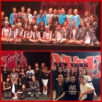 Andrea22lopezareli and wespacdance at awards - ALDC BDA - 9May2015