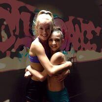 Tessa with Addison (addykaylee) 2014-02-07
