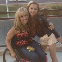 Jennifer and Talia 2013-06-09