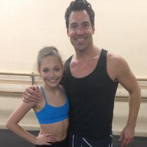 Mark Meismer with Maddie 2014-11-14