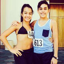 Alyssa Chi with Evan Gorbell