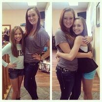 Auriel with Mackenzie and Maddie August2014