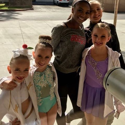 File:711 Lilly, Ellie and Maesi in Solo Costumes with Brynn and Camryn.jpg