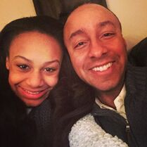 Nia and dad Evan 2015-02-19