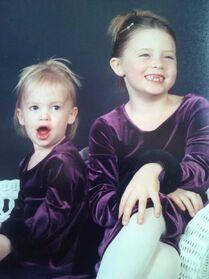 Alexa Moffett to Addison Moffett - Twitter - on Addisons 17th birthday