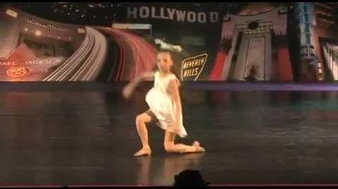 Dance Moms - Maddie Ziegler - Disappear (FULL SOLO VERSION)