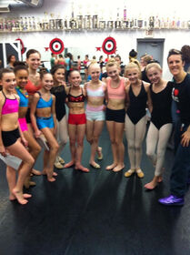 Kaloudis girls and dance moms girls