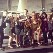 Kendall K music video shoot - posted 2015-02-03