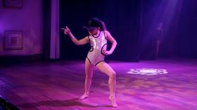 203 Chloe on Stage
