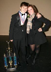 Brandon Pent-Gianna Martello DMA 2011 Pennsylvania Title