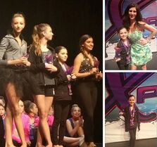 Kalani 1st - Jazlyn 2nd (Adage) - Unknown 3rd - Ava 4th - Xpression overall teen soloists - 2May2015 - via kirad143