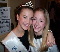 Chloe Lukasiak-DMA 2011 Pennsylvania Title-with Brooke Hyland