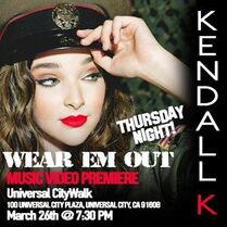 Kendall K Wear Em Out Premiere
