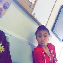 Haley with Jade 2014-08-12