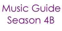 Music Guide Season 4B