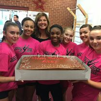703 Elite team with Abby's cake (2)