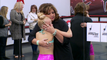 511 JoJo hugging Abby