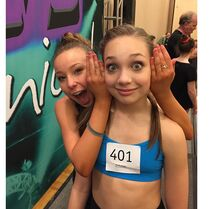 Sophia Lucia and Maddie Ziegler at Jump in Pittsburgh - 2Feb2015