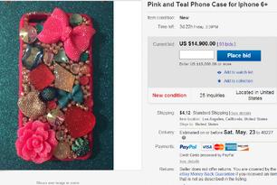 Nia and JoJo phone case auction