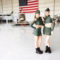 Kalani and Addison helicopters