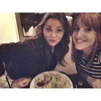 Molly and Alexa 2014-12-11