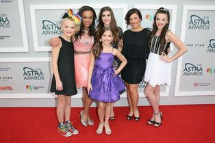 Astra awards girls