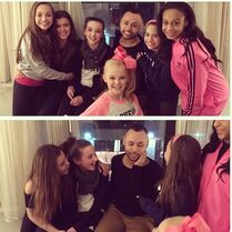 Girls with James Washington in NYC 2015-02-18