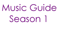 Music Guide Season 1