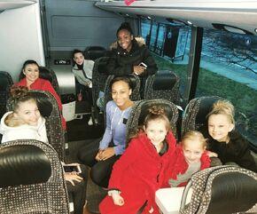 713 Team on the bus