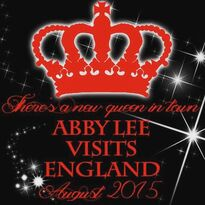 Abby Lee in England August 2015