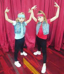 719 Lilliana and Elliana duet costumes