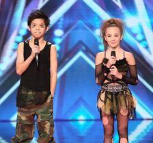 Kaycee and Gabe - Americas Got Talent AGT
