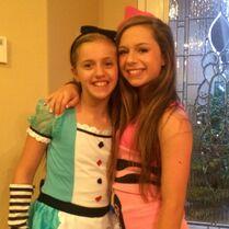 Kayla and Talia 2015-04-06