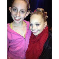 Chloe Smith with Maddie Ziegler