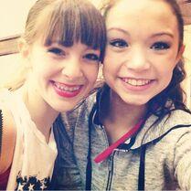 Chloe Nguyen With A Friend