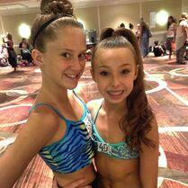 Haley meeting Sophia 2014-07-12