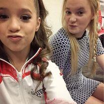 Mackenzie and Addison 2May2015