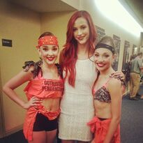 Kendall and Maddie with Taylor Ackerman