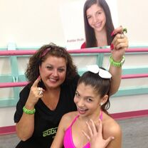 Ashtin Roth with Abby Lee Miller 2013-08-19