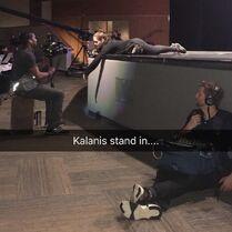 716 Kalani helping the crew