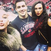 Kendall with Charlotte in Louisville 2015-02-21