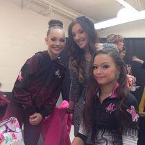 Chloe N with Gia Maddie