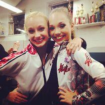 SarahR and Maddie 2014