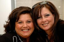 Abby Lee Miller and Gina Dudash from thenewsherald dot com 27march2012