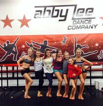 Club Dance at end of ALDC Booty Camp August 18 2014 - Addison Kalani Alexa Brynn SarahR